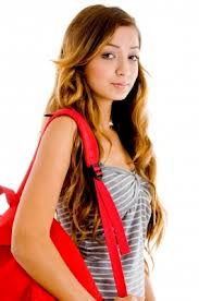 Letterbalm College Girl with Backpack