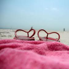 Letterbalm Beach Towel & Thongs