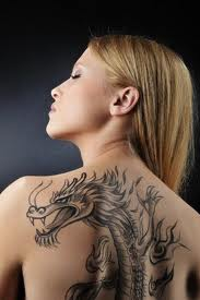 Letterbalm Woman with Dragon Tattoo