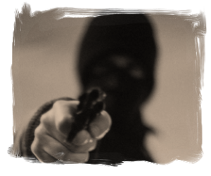 Letterbalm Masked Gunman