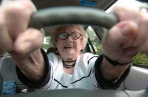 Letterbalm Old Lady Behind the Wheel