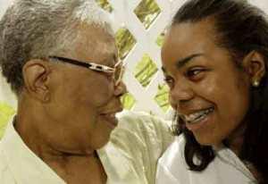 Letterbalm Black Grandma and Granddaughter