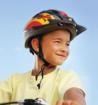 Letterbalm Kid in Bike Helmet