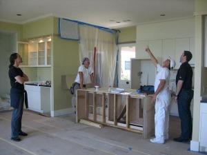 Letterbalm Kitchen Under Construction