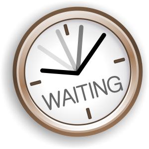 Letterbalm Waiting Clock