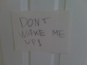 Letterbalm Kid's Bedroom Door
