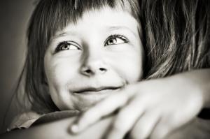 Letterbalm Girl Hugging Babysitter