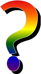 Letterbalm Gay Question Mark