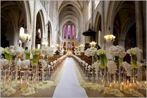 Letterbalm Formal Wedding Aisle