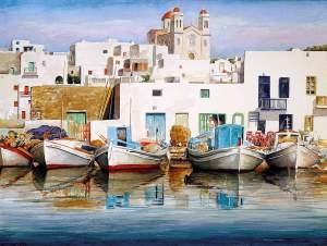 Letterbalm Greek Fishing Village