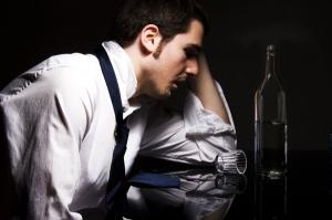 Letterbalm Man Drinking