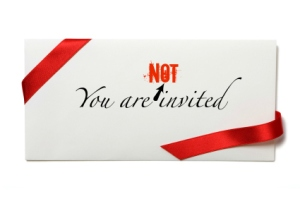 Letterbalm You're Not Invited