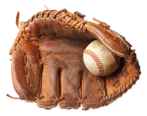 Letterbalm Baseball Glove and Ball